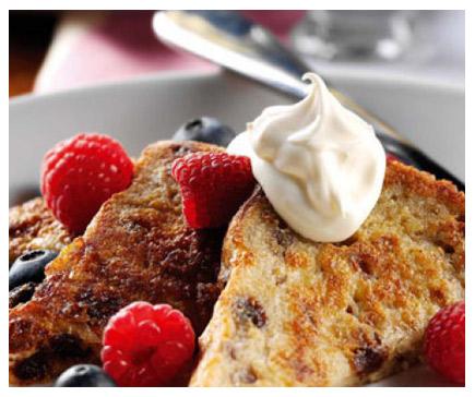 Raisin & Cinnamon Eggy Bread