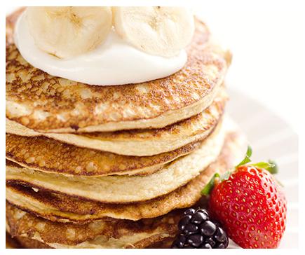 Banana Protein Pancake